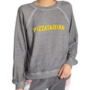 💥Flash Sale💥NWT Wildfox Pizzatarian Sweatshirt